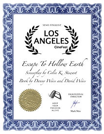 Escape To Hollow Earth  Screenplay by- C