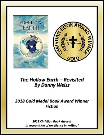The Hollow Earth Award Winning Certifica