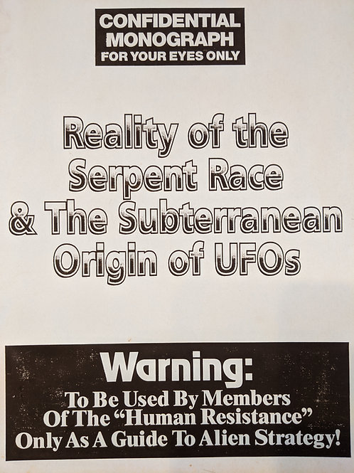 Reality of the Serpent Race