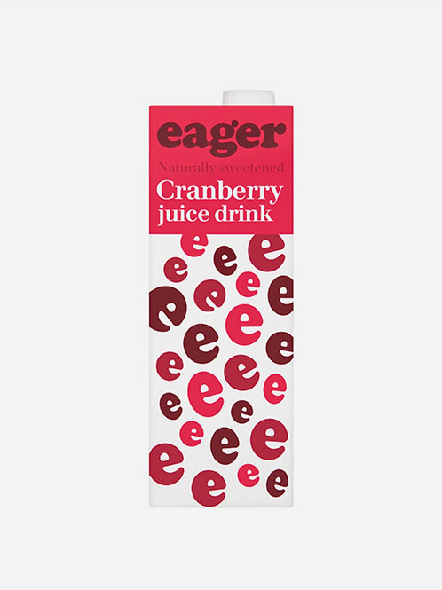 Cranberry Juice Eager  1lt