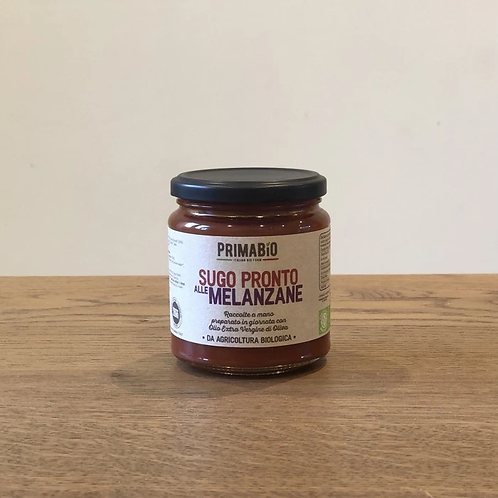 Prima Bio Organic Tomato and Aubergine Sauce