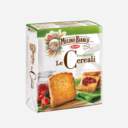 Rusks with Cereal - Fette Cereali Mulino Bianco 315g