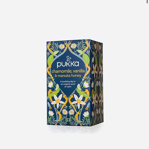 Chamomile, Vanilla & Manuka Honey Tea Pukka  20 bags