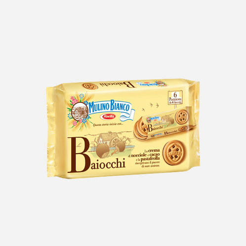 Baiocchi Snack Biscuits Mulino Bianco 336gr