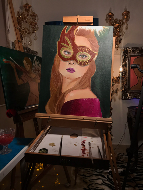 """woman in the mask"""