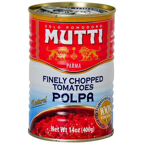 Mutti Chopped Plum Tomatoes