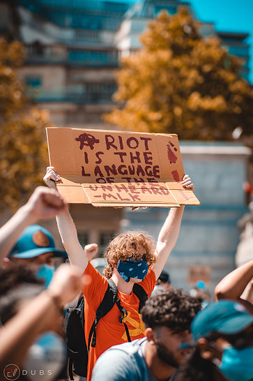 Riot Is The Language Of The Unheard