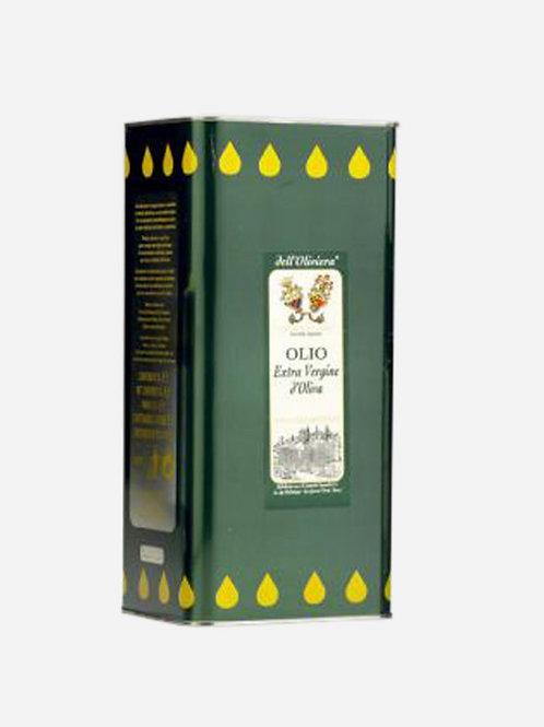 Extra Virgin Olive Oil Organic Simonelli 5lt