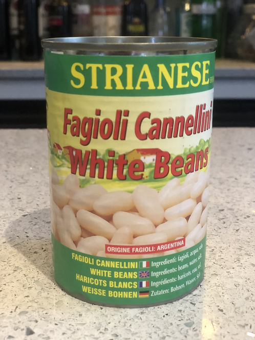 CANNELLINI BEANS TINS 400g