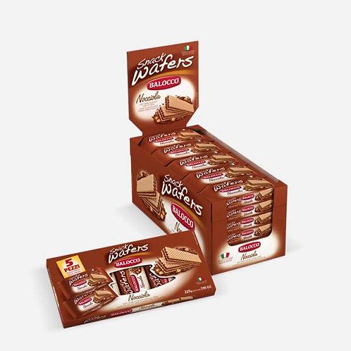 Wafers Snack Hazelnut Balocco 45g
