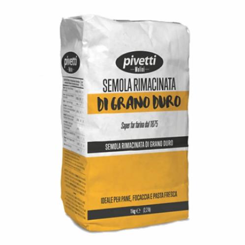 PIVETTI Re-milled Semolina Flour Semola Rimacinata 1kg