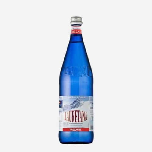 Sparkling Water Glass (Blue) Lauretana  75cl