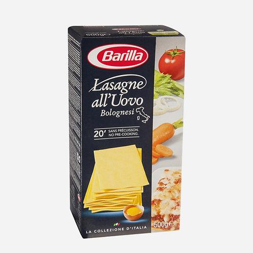 Egg Lasagne Uovo Emiliana Chef Barilla 500g