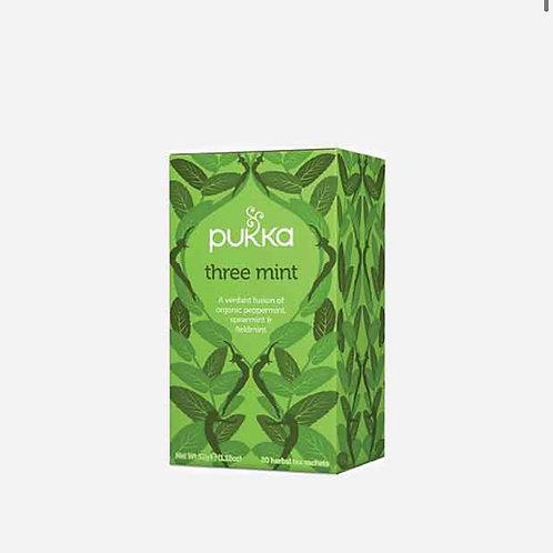 Three Mint Tea Pukka 20 bags