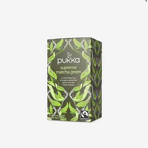 Green Matcha Tea Pukka  20 bags