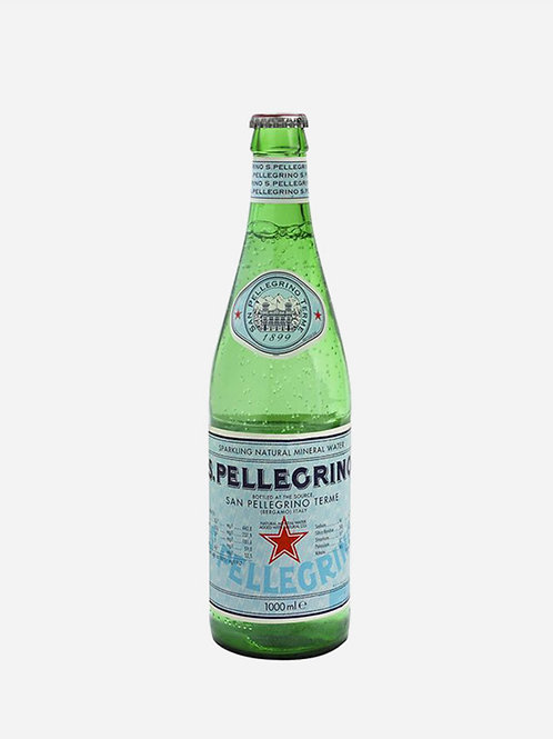 San Pellegrino Sparkling Water Glass 1lt