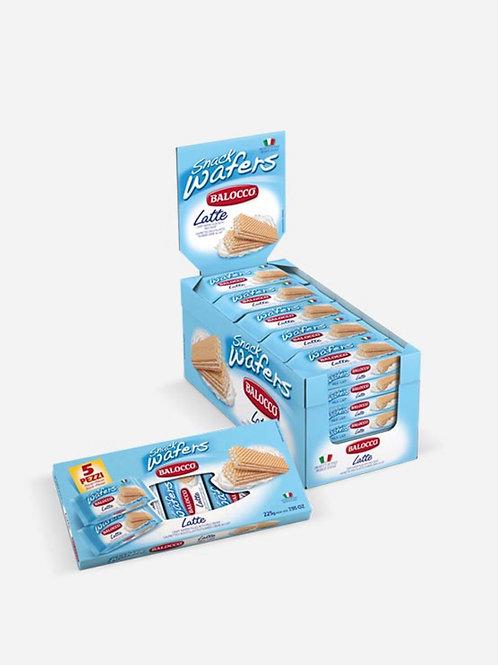 Wafers Snack Milk Balocco  45g