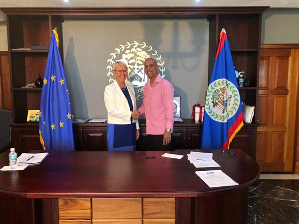 Government of Belize and The European Union Sign Financing Agreement of BZ 31. 96 Million Grant Fund