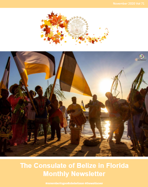 Consulate of Belize in Florida e-Newsletter, November Edition