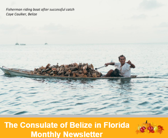 Consulate of Belize in Florida Newsletter, October Edition