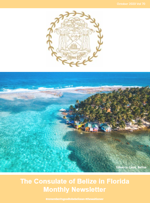 Consulate of Belize in Florida e-Newsletter, October Edition