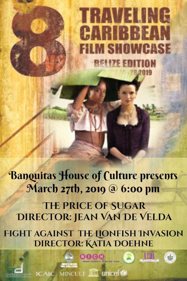 NICH NOTICE - Traveling Caribbean Film Showcase Showing 2 Films at Banquitas House of Culture in Ora