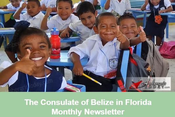 The Consulate of Belize in Florida Newsletter, August Edition
