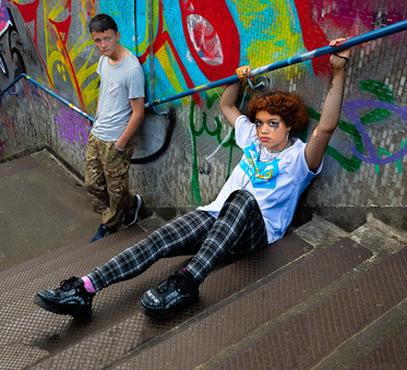 'Street kids' by Brian Carey, Central Photographic Association