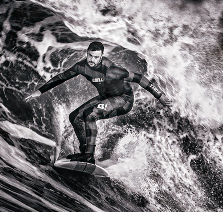 'Surfer' by Brian Carey, Central Photographic Association