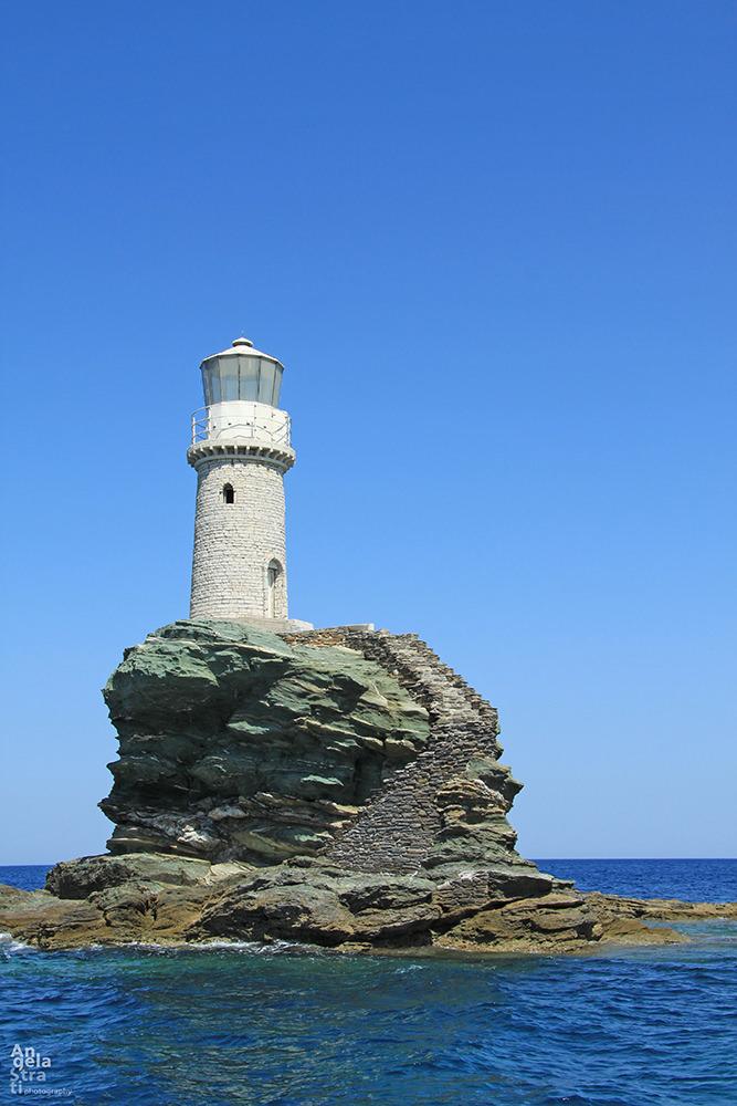 Tourlitis lighthouse in Chora