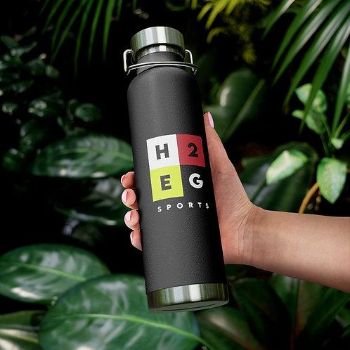 H2EG Sports 22oz Vacuum Insulated Bottle