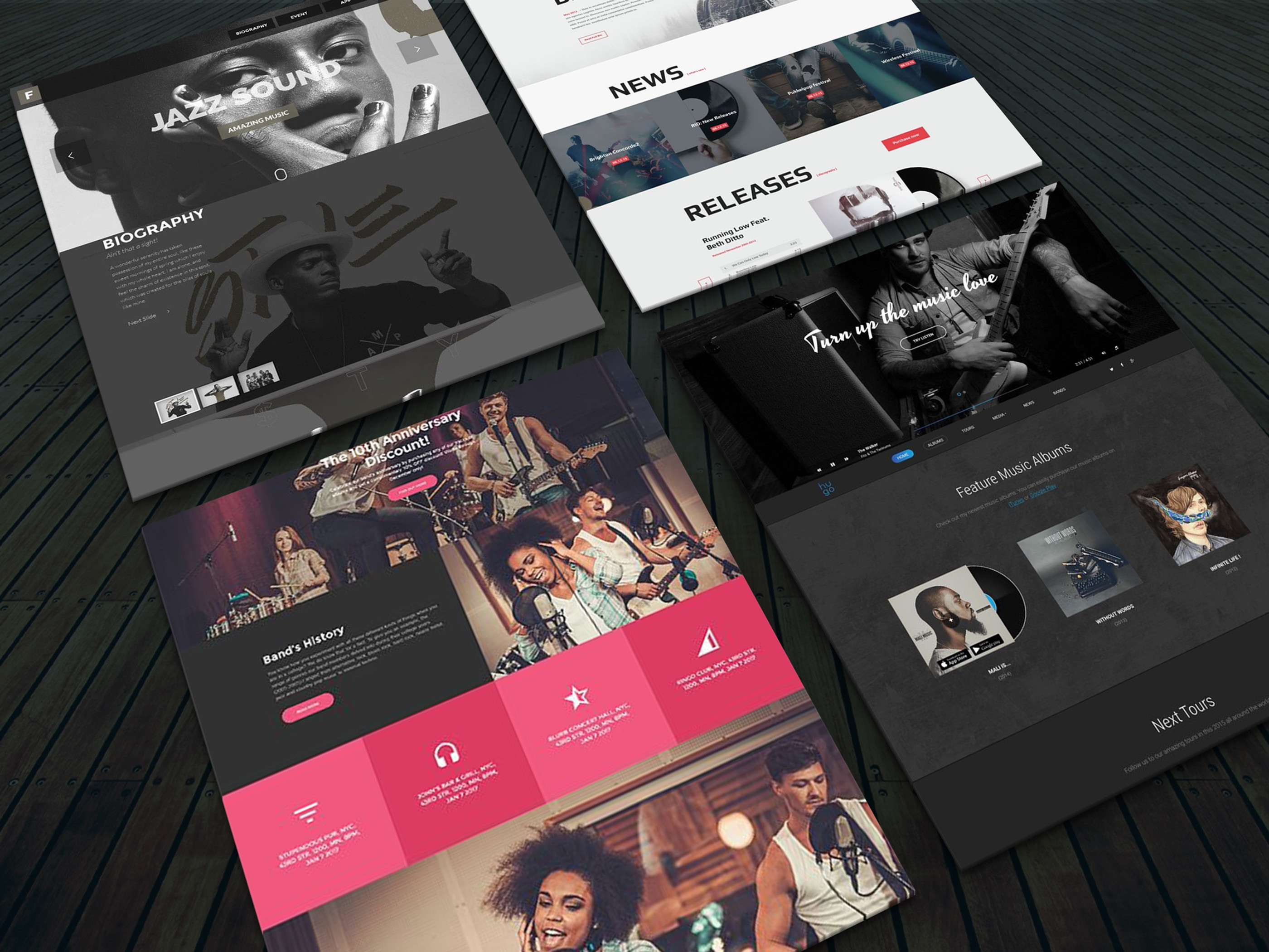 Multi-Page Web Design