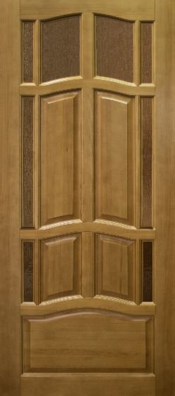 Межкомнатная дверь Ампир из массива сосны