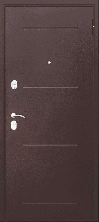 Ferroni Гарда 7,5см Медь  входная дверь