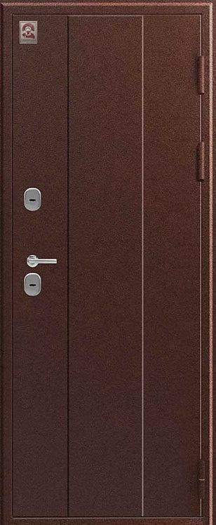 Центурион Т-6 входная дверь черный муар