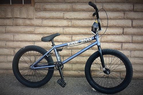 2022 Kink BMX Launch Matte Storm Grey