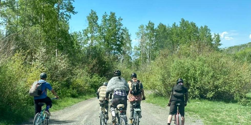Downhill Mountain Bike Klunker Run