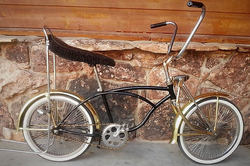 1977 Schwinn Stingray Rat Rod Bike with Low Rider Fenders