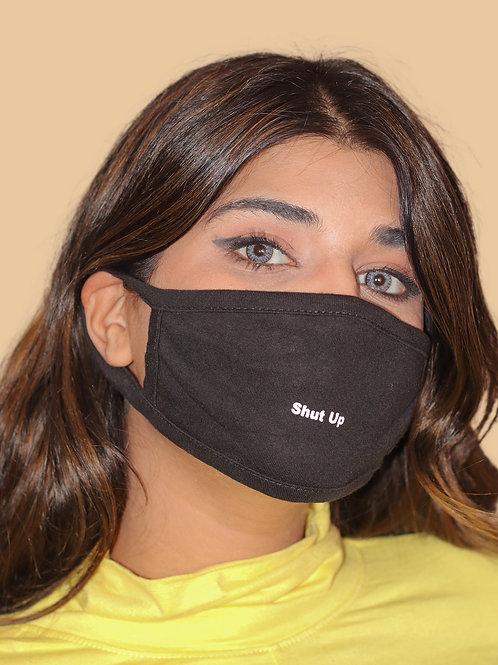 SHUT UP. : Black