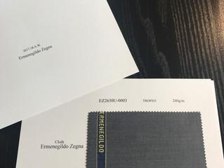 Ermenegildo Zegna 2017.18AWバンチブック入荷のお知らせ