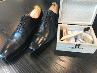 靴磨きセット入荷のお知らせ