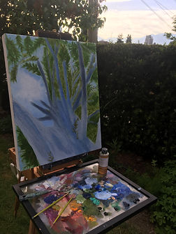 Plein Air Painting with Kat Wadel