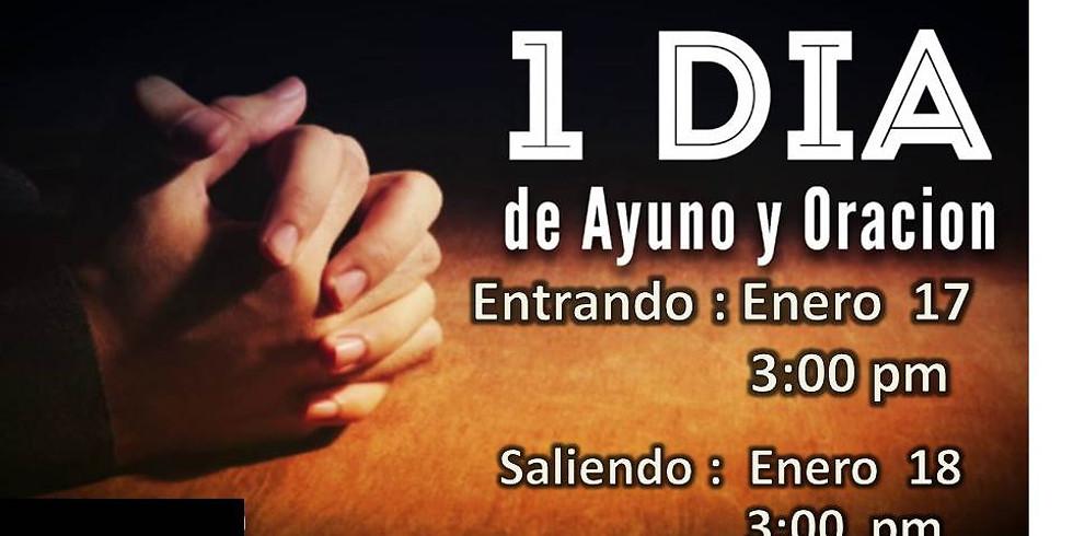 24 Horas de Ayuno y Oracion