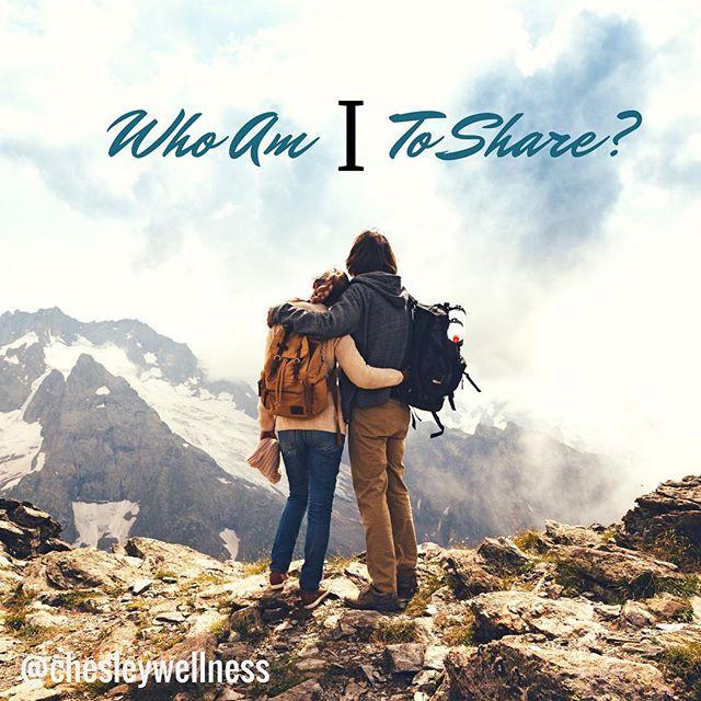 Who Am I To Share?