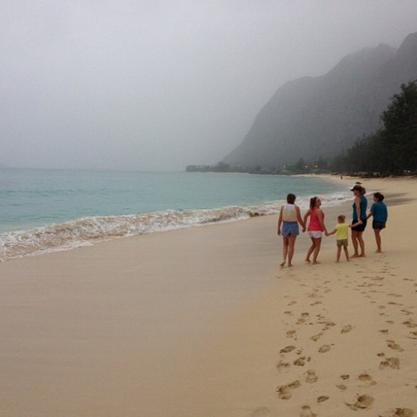 Set out to see Waimanalo Beach today. Na