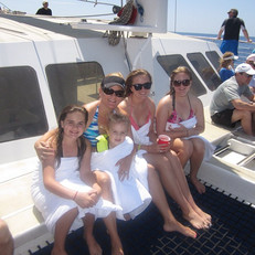 Fun day sailing, snorkeling, and whale w