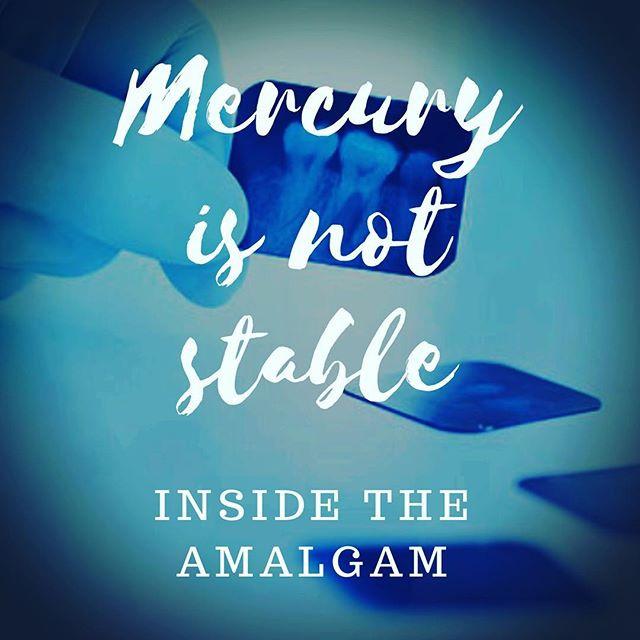 Mercury Is Not Stable In the Amalgam