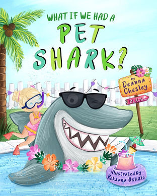 What If We Had a Pet Shark front cover.j