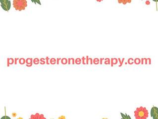 progesteronetherapy.com