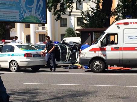 На улицах Алма-Аты перестрелка, есть раненные и погибшие